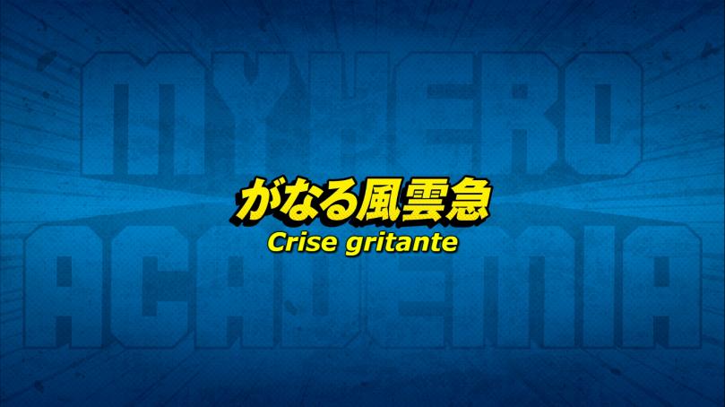 Crise Gritante